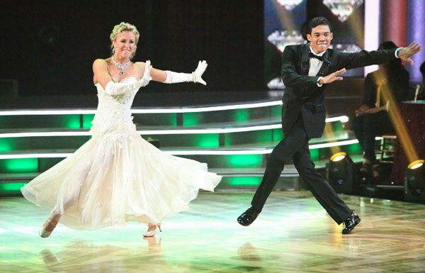 "<div class=""meta ""><span class=""caption-text "">Disney Channel star Roshon Fegan and his partner Chelsie Hightower received 26 out of 30 points from the judges for their quickstep on week two of 'Dancing With The Stars,' which aired on March 26, 2012. (ABC Photo/ Adam Taylor)</span></div>"