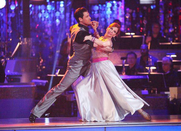 Melissa Gilbert, a former child star who played Laura on &#39;Little House on the Prairie,&#39; and her partner Maksim Chmerkovskiy received 20 out of 30 points from the judges for their quickstep on week two of &#39;Dancing With The Stars,&#39; which aired on March 26, 2012. <span class=meta>(ABC Photo&#47; Adam Taylor)</span>