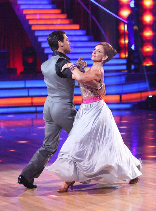 "<div class=""meta ""><span class=""caption-text "">Melissa Gilbert, a former child star who played Laura on 'Little House on the Prairie,' and her partner Maksim Chmerkovskiy received 20 out of 30 points from the judges for their quickstep on week two of 'Dancing With The Stars,' which aired on March 26, 2012. (ABC Photo/ Adam Taylor)</span></div>"