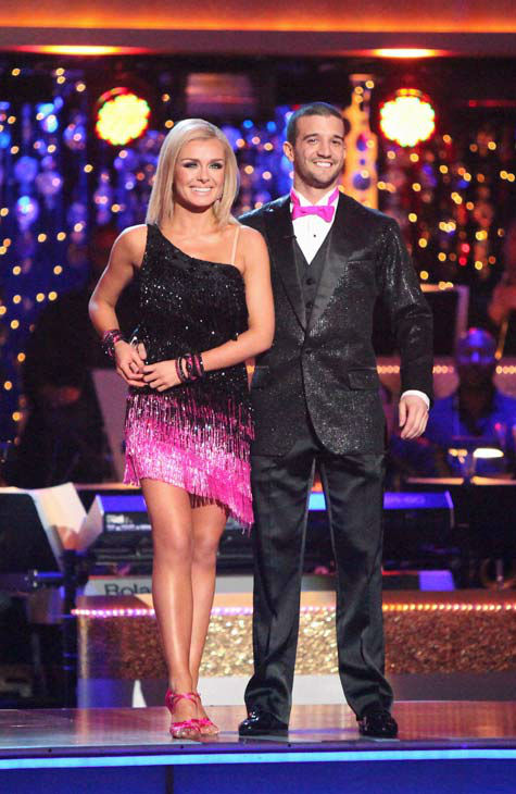 Classical singer Katherine Jenkins and her partner Mark Ballas received 26 out of 30 point