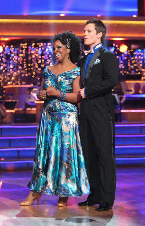 R&B legend Gladys Knight and her partner Tristan MacManus received 19 out of 30 points from the judges for their quickstep on week two of 'Dancing With The Stars,' which aired on March 26, 2012.