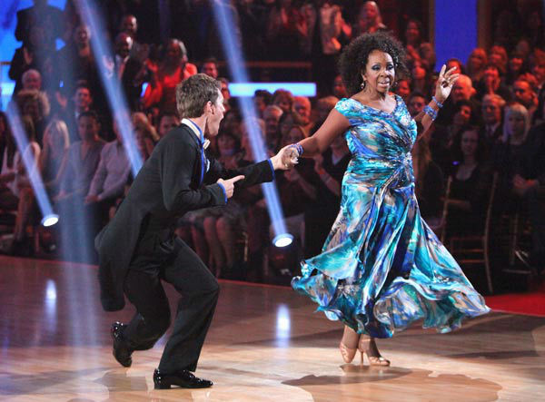R&B legend Gladys Knight and her partner Tristan MacManus
