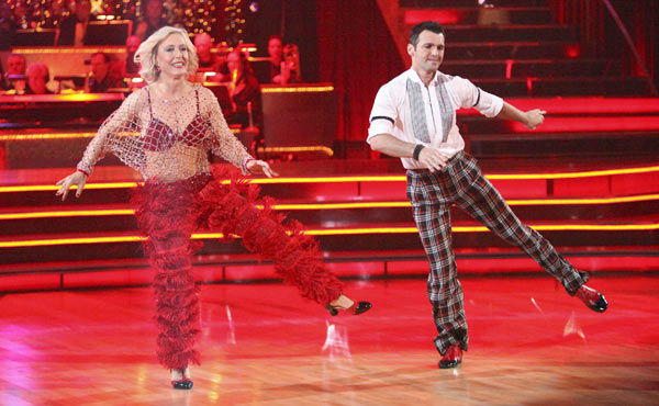 Tennis legend Martina Navratilova and her partner Tony Dovolani received 17 out of 30 points from the judges for their jive on week two of &#39;Dancing With The Stars,&#39; which aired on March 26, 2012. <span class=meta>(ABC Photo&#47; Adam Taylor)</span>