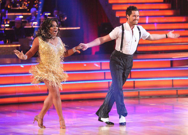 "<div class=""meta ""><span class=""caption-text "">'The View' co-host Sherri Shepherd and her partner Valentin Chmerkovskiy received 23 out of 30 points from the judges for their jive on week two of 'Dancing With The Stars,' which aired on March 26, 2012. (ABC Photo/ Adam Taylor)</span></div>"
