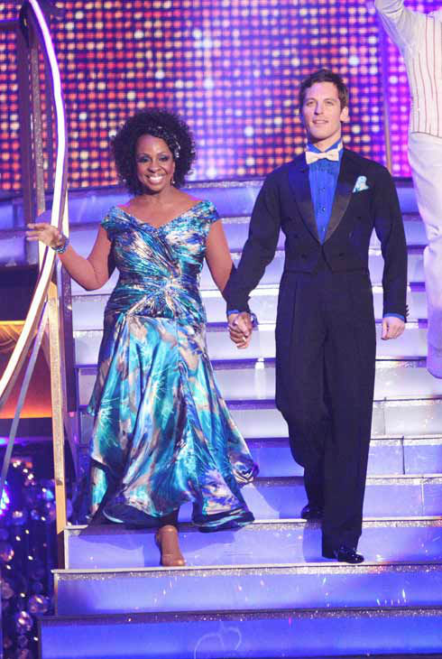 "<div class=""meta ""><span class=""caption-text "">R&B legend Gladys Knight and her partner Tristan MacManus received 19 out of 30 points from the judges for their quickstep on week two of 'Dancing With The Stars,' which aired on March 26, 2012. (ABC Photo/ Adam Taylor)</span></div>"