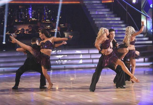 "<div class=""meta ""><span class=""caption-text "">The 'Dancing With The Stars' pros and Dance Troupe perform on 'Dancing With The Stars: The Result Show' on Tuesday, March 27, 2012. (ABC Photo/ Adam Taylor)</span></div>"