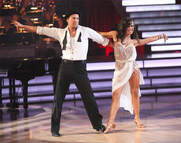Singer Gavin DeGraw and his partner Karina Smirnoff received 24 out of 30 points from the judges for their Rumba on week three of &#39;Dancing With The Stars,&#39; which aired on April 2, 2012. <span class=meta>(ABC&#47;Adam Taylor)</span>