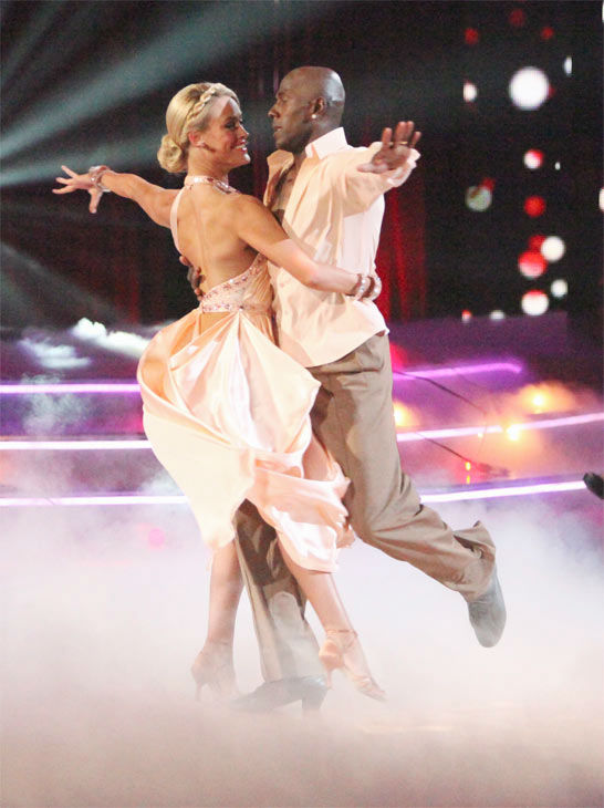 Football star Donald Driver and his partner Peta Murgatroyd received 26 out of 30 points fr