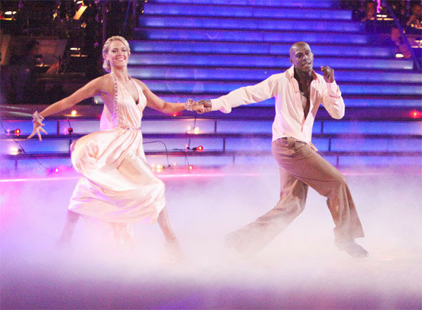 Football star Donald Driver and his partner Peta Murgatroyd received 26 out of 30 points from the judges for their Rumba on week three of 'Dancing With The Stars,' which aired