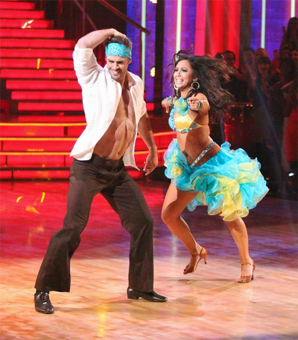 "<div class=""meta ""><span class=""caption-text "">Telenovela star William Levy and his partner Cheryl Burke received 28 out of 30 points from the judges for their Salsa on week three of 'Dancing With The Stars,' which aired on April 2, 2012. (ABC/Adam Taylor)</span></div>"