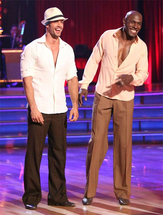 "<div class=""meta ""><span class=""caption-text "">Telenovela star William Levy and football star Donald Driver appear on week three of 'Dancing With The Stars,' which aired on April 2, 2012. (ABC/Adam Taylor)</span></div>"
