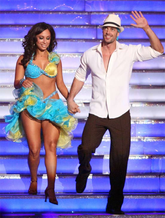 Telenovela star William Levy and his partner Cheryl Burke received 28 out of 30 points from the judges for their Salsa on week three of &#39;Dancing With The Stars,&#39; which aired on April 2, 2012. <span class=meta>(ABC&#47;Adam Taylor)</span>