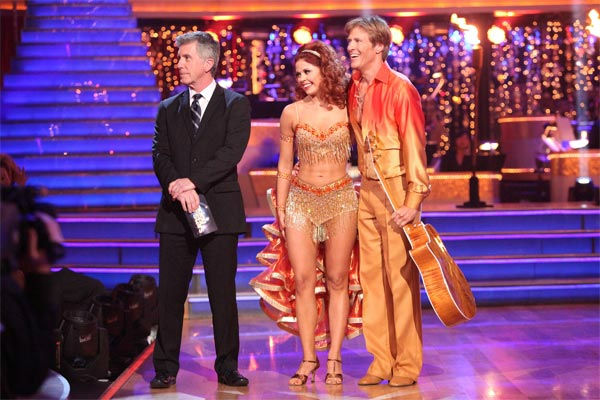 "<div class=""meta image-caption""><div class=""origin-logo origin-image ""><span></span></div><span class=""caption-text"">Jack Wagner, formerly of 'Melrose Place,' and his partner Anna Trebunskaya received 24 out of 30 points from the judges for their Samba on week three of 'Dancing With The Stars,' which aired on April 2, 2012. (ABC/Adam Taylor)</span></div>"
