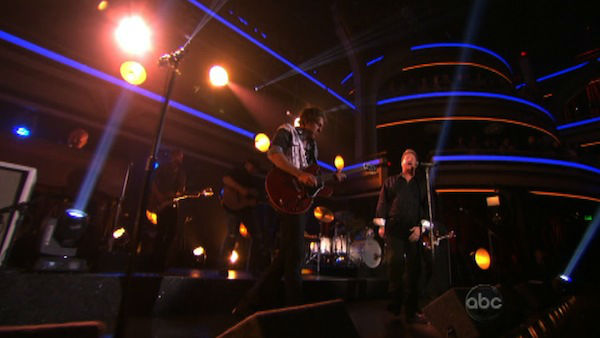 Rascal Flatts also appeared on the show...