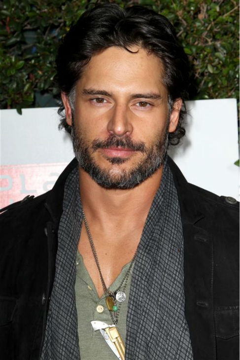The &#39;Break-Out-The-Big-Guns&#39; stare: Joe Manganiello appears at the opening of Planet Dailies and Mixology 101 in Los Angeles on April 5, 2012. <span class=meta>(Norman Scott &#47; Startraksphoto.com)</span>