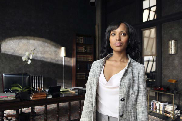 "<div class=""meta ""><span class=""caption-text "">16. Kerry Washington appears in the 'Scandal' season 1 episode 'Sweet Baby,' which aired on April 5, 2012. (ABC)</span></div>"
