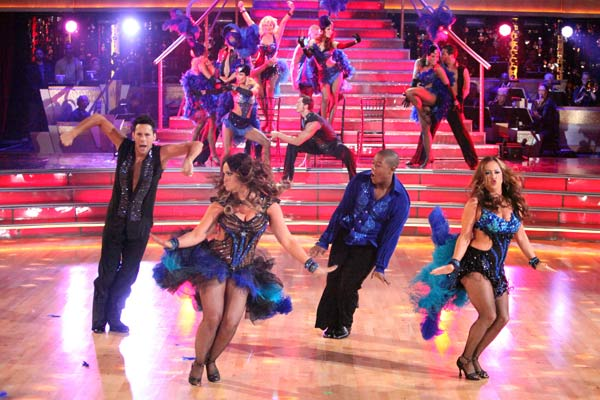 "<div class=""meta ""><span class=""caption-text "">'Dancing With The Stars' alums Sabrina Bryan and Kyle Massey came back to the ballroom on 'Dancing With The Stars: The Results Show' on Tuesday, April 10, 2012 with a preview of the 'Dancing with the Stars: Live in Las Vegas' show, which debuts April 14 at the New Tropicana Las Vegas. The show also includes appearances by Carson Kressley, Joey Fatone, Tia Carrere, Dmitry Chaplin and Lacey Schwimmer. (ABC Photo)</span></div>"