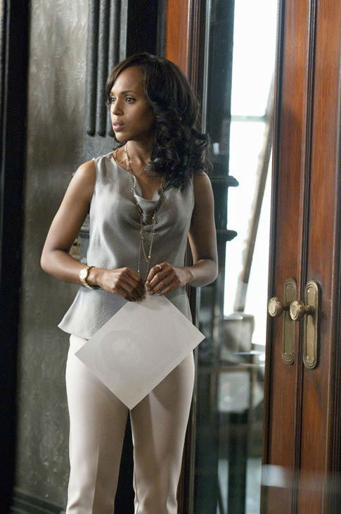 "<div class=""meta ""><span class=""caption-text "">Kerry Washington appears in the 'Scandal' season 1 episode 'Dirty Little Secrets,' which aired on April 12, 2012. (ABC/Colleen Hayes)</span></div>"