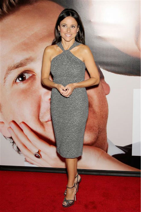 Julia Louis-Dreyfus appears at the premiere of the movie &#39;The Five-Year Engagement&#39; at the Tribeca Film Festival in New York on April 17, 2012.mail <span class=meta>(Marion Curtis &#47; Startraksphoto.com)</span>