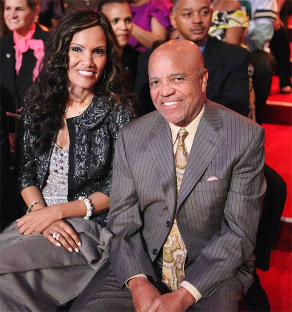 Record producer Berry Gordy, founder of the Motown record label, appears in the audience on week six of 'Dancing With The Stars,' which aired on Monday, April 23, 2012.