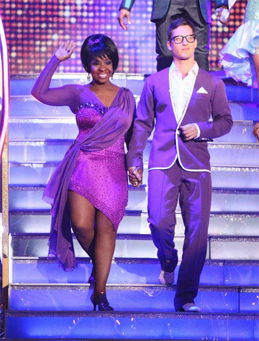 R&#38;B legend Gladys Knight and her partner Tristan MacManus received 21 out of 30 points from the judges for their Rumba to The Temptations&#39; &#39;My Girl&#39; on week six of &#39;Dancing With The Stars,&#39; which aired on Monday, April 23, 2012. <span class=meta>(ABC Photo&#47; Adam Taylor)</span>