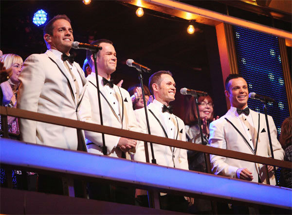 Human Nature performed on week 6 of 'Dancing With The Stars,' which aired on Monday, April 23, 2012.