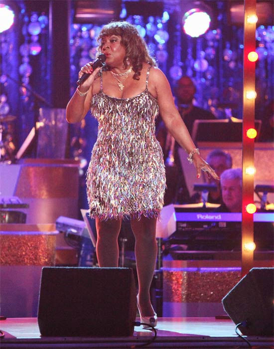 Martha Reeves performed on week six of 'Dancing...