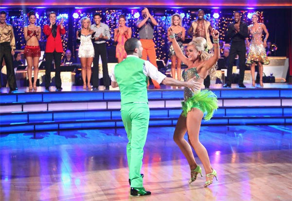 The couples showed off their classic dance moves from the Motown era during a special Motown Dance Marathon on week 6 of &#39;Dancing with the Stars,&#39; which aired on Monday, April 23, 2012. Katherine Jenkins and partner Mark Ballas &#40;pictured&#41; won the challenge and 10 extra points. <span class=meta>(ABC Photo&#47; Adam Taylor)</span>