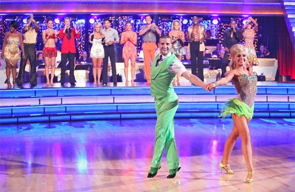 "<div class=""meta ""><span class=""caption-text "">The couples showed off their classic dance moves from the Motown era during a special Motown Dance Marathon on week 6 of 'Dancing with the Stars,' which aired on Monday, April 23, 2012.  Opera singer Katherine Jenkins and partner Mark Ballas (pictured) won the challenge and 10 extra points. (ABC Photo/ Adam Taylor)</span></div>"
