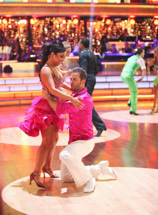 The couples showed off their classic dance moves...