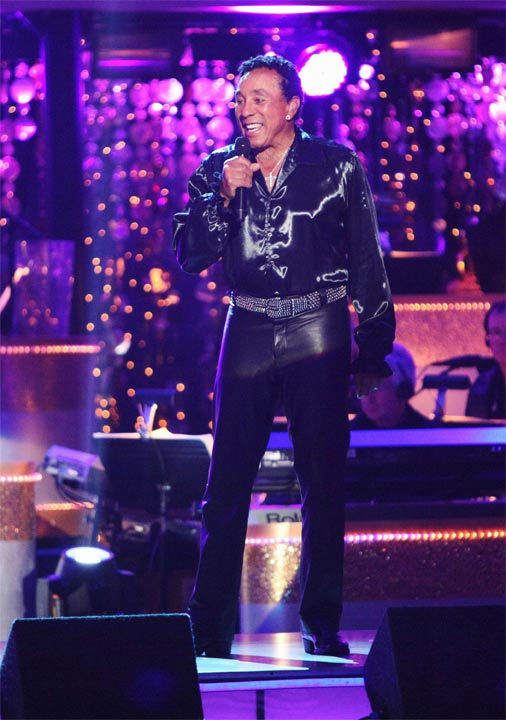 Smokey Robinson performed on week six of...