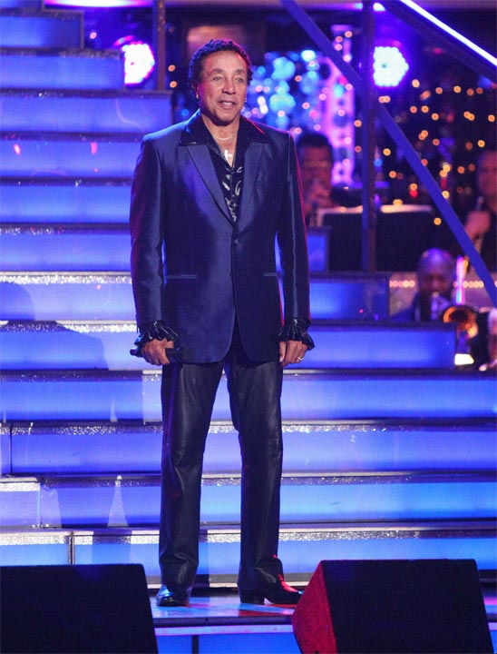 Smokey Robinson performed on week six of 'Dancing With The Stars,' which aired on Monday, April 23, 2012.