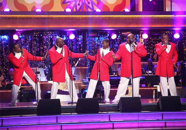 The Temptations performed on week 6 of &#39;Dancing With The Stars,&#39; which aired on Monday, April 23, 2012. <span class=meta>(ABC Photo&#47; Adam Taylor)</span>