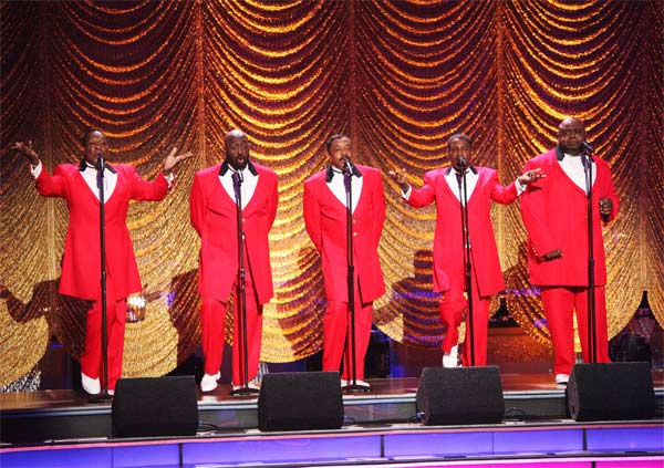 The Temptations performed on week 6 of 'Dancing...