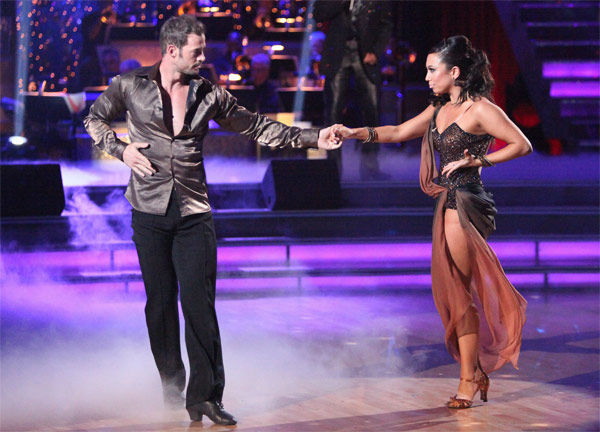 "<div class=""meta ""><span class=""caption-text "">Telenovela star William Levy and his partner Cheryl Burke received 27 out of 30 points from the judges for their Rumba to Smokey Robinson's 'Being with You' on week six of 'Dancing With The Stars,' which aired on Monday, April 23, 2012. (ABC Photo/ Adam Taylor)</span></div>"