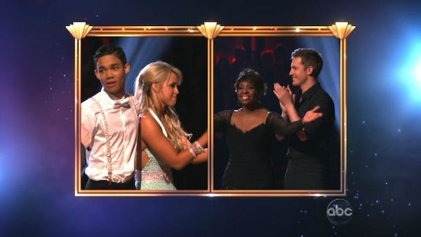 "<div class=""meta ""><span class=""caption-text "">R&B legend Gladys Knight and her partner Tristan MacManus react to being eliminated on 'Dancing With The Stars: The Results Show' on Tuesday, April 24, 2012. The pair received 21 out of 30 points from the judges for their Rumba on week six of 'Dancing With The Stars,' which aired on April 23, 2012. (ABC Photo)</span></div>"