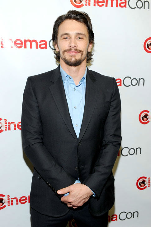 Actor James Franco attends the Walt Disney...