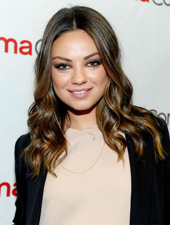 Actress Mila Kunis attends the Walt Disney...