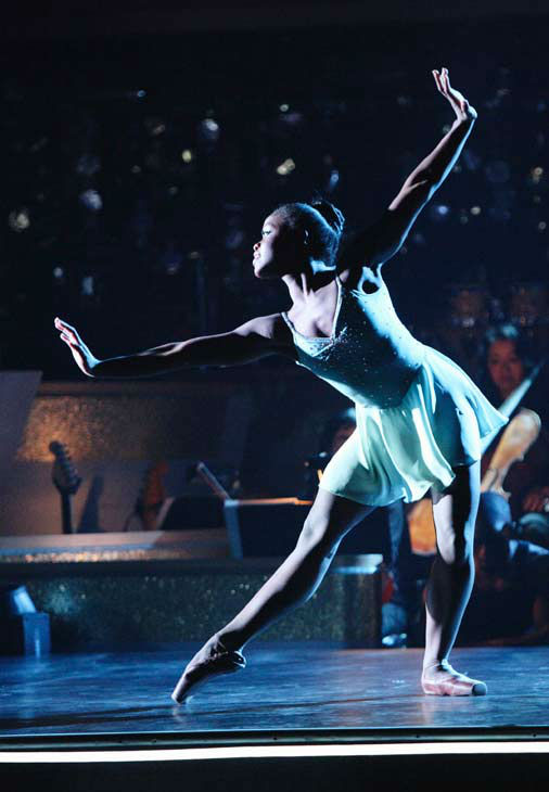 This week's 'AT&T's Spotlight Performance' featured the story of Michaela DePrince on 'Dancing With The Stars: The Results Show' on Tuesday, April 24, 2012. Natasha Bedingfield performed live with Michaela, singing her powerful hit song 'Wild Horses.'