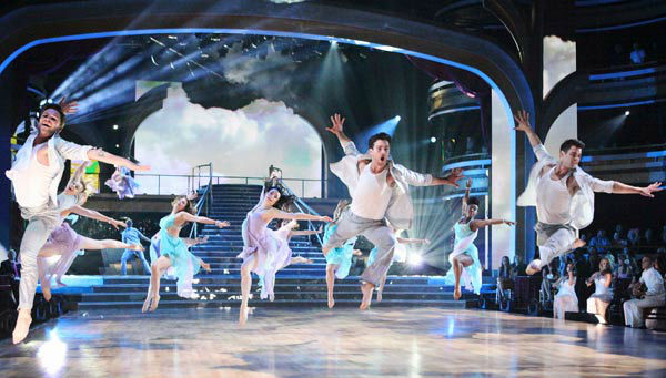 "<div class=""meta image-caption""><div class=""origin-logo origin-image ""><span></span></div><span class=""caption-text"">The 'Macy's Stars of Dance' performance was the television debut of debut of the contemporary dance company Shaping Sound on 'Dancing With The Stars: The Results Show' on Tuesday, April 24, 2012. The performance was a special preview of next week's Classical theme with an arrangement recorded by Aston, a classical group from Sydney, Australia. (ABC Photo/ Adam Taylor)</span></div>"
