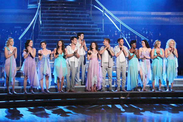 The 'Macy's Stars of Dance' performance was the television debut of debut of the contemporary dance company Shaping Sound on 'Dancing With The Stars: The Results Show' on Tuesday, April 24, 2012. The performance was a special preview of next week's Classi