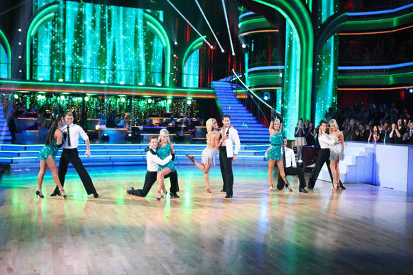 The show opened with a performance by the 'Dancing With The Stars' Troupe, Val Chmerkovskiy, Peta Murgatroyd, Louis Van Amstel and Snejana Petrova, featuring a medley of Motown hit songs on 'Dancing With The Stars: The Results Show' on Tuesday, April 24,