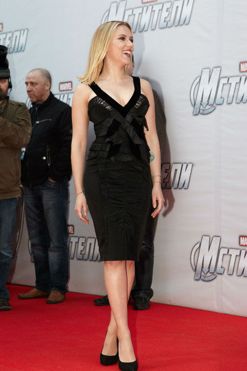 Scarlett Johansson attends the Russian Premiere of &#39;Marvel&#39;s The Avengers&#39; held at Oktyabr cinema on April 17, 2012 in Moscow, Russia.  <span class=meta>(Disney&#47;Marvel Photo&#47;Oleg Nikishin)</span>