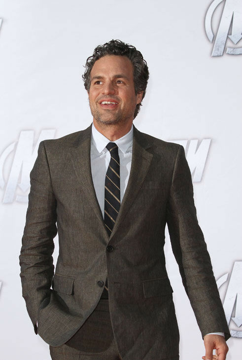"<div class=""meta ""><span class=""caption-text "">Mark Ruffalo attends the Russian Premiere of 'Marvel's The Avengers' held at Oktyabr cinema on April 17, 2012 in Moscow, Russia.  (Disney/Marvel Photo/Gennadi Avramenko)</span></div>"