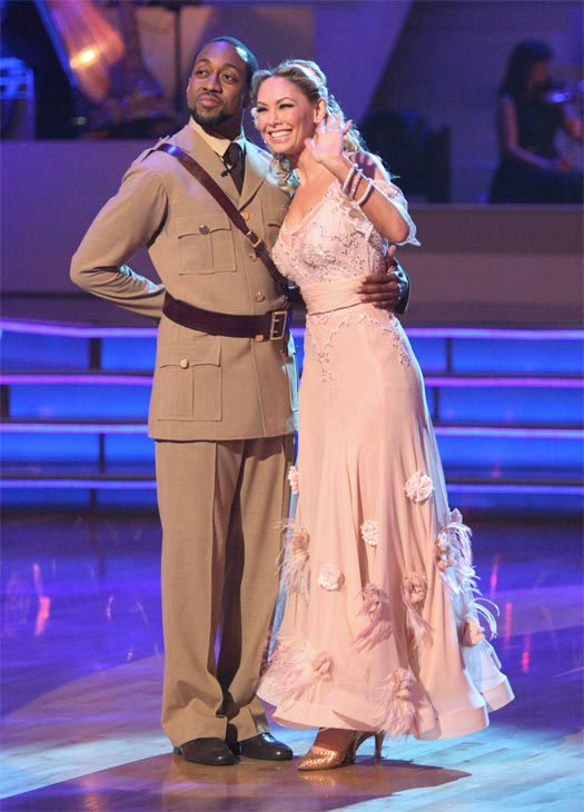 Jaleel White, who played Steve Urkel on &#39;Family Matters,&#39; and his partner Kym Johnson received 24 out of 30 points from the judges for their Viennese Waltz on week 7 of &#39;Dancing With The Stars,&#39; which aired on Monday, April 30, 2012. <span class=meta>(ABC Photo&#47; Adam Taylor)</span>