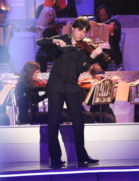 Grammy Award-winning violinist Joshua Bell performed on Classical Night during week 7 of 'Dancing With The Stars' on Monday, April 30, 2012.