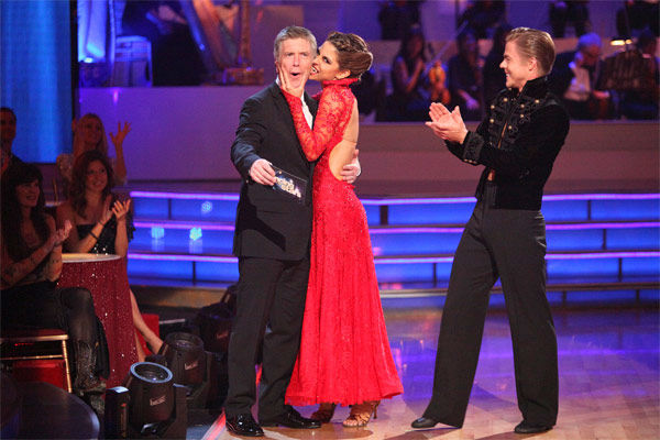 "<div class=""meta image-caption""><div class=""origin-logo origin-image ""><span></span></div><span class=""caption-text"">TV personality Maria Menounos and her partner Derek Hough received 30 out of 30 points from the judges for their Paso Doble on week 7 of 'Dancing With The Stars,' which aired on Monday, April 30, 2012. (ABC Photo/ Adam Taylor)</span></div>"