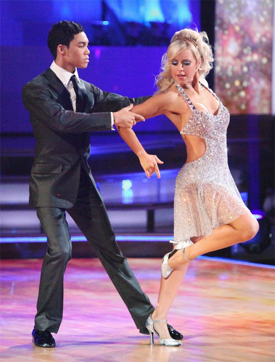 "<div class=""meta ""><span class=""caption-text "">Disney Channel star Roshon Fegan and his partner Chelsie Hightower received 25 out of 30 points from the judges for their Argentine Tango on week 7 of 'Dancing With The Stars,' which aired on Monday, April 30, 2012. (ABC Photo/ Adam Taylor)</span></div>"