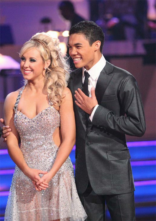 "<div class=""meta image-caption""><div class=""origin-logo origin-image ""><span></span></div><span class=""caption-text"">Disney Channel star Roshon Fegan and his partner Chelsie Hightower received 25 out of 30 points from the judges for their Argentine Tango on week 7 of 'Dancing With The Stars,' which aired on Monday, April 30, 2012. (ABC Photo/ Adam Taylor)</span></div>"