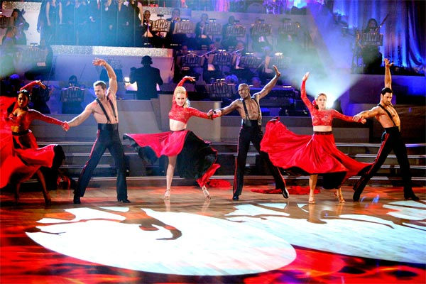 Team Paso received 26 out of 30 points from the judges on week 7 of 'Dancing With The Stars,' which aired on Monday, April 30, 2012.